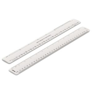 300mm Rulex conversion oval scale ruler