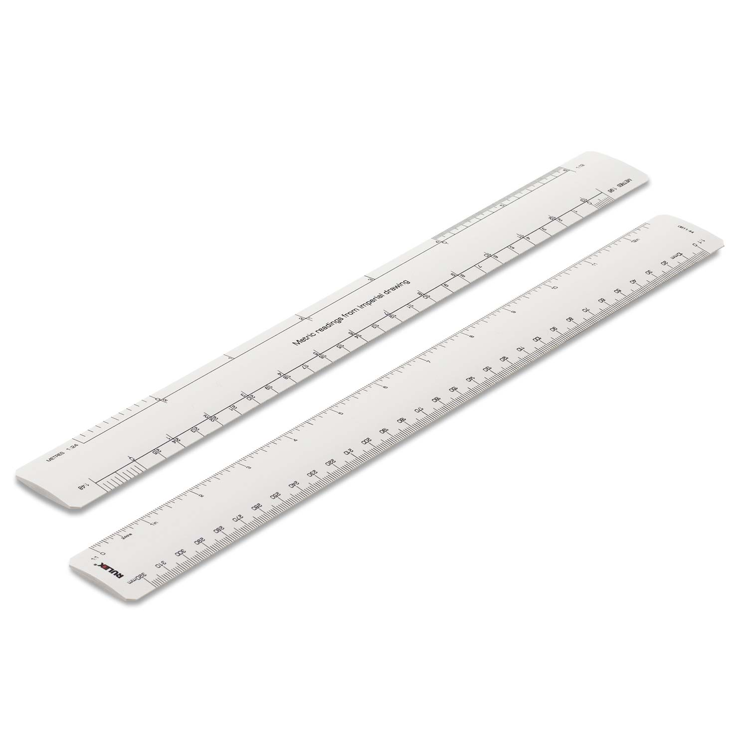 Rulex conversion scale ruler - converts imperial measurements to metric