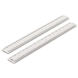 300mm Rulex engineers oval scale ruler