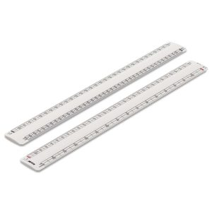 300mm Rulex architects oval scale ruler