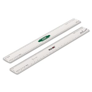 300mm Rulex British model railway scale ruler