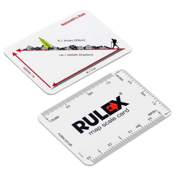 Rulex OS map scale card