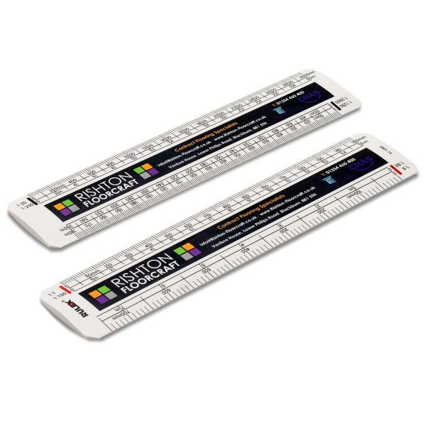 150mm Rulex oval scale ruler - One Side