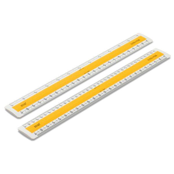 Verulam scale rulers