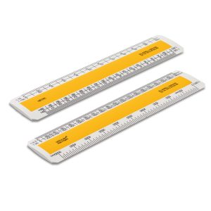 150mm Verulam scale ruler